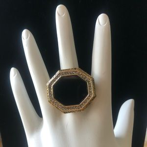 House of Harlow Reflector Statement Ring-NWOT